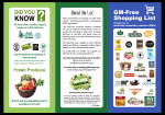 GM-Free Shopping List